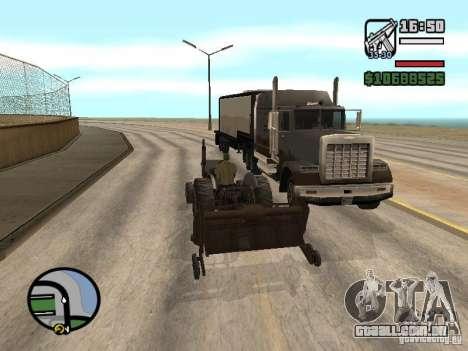 Carros com trailers para GTA San Andreas quinto tela