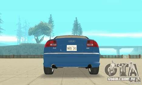 Audi A8L 4.2 FSI para as rodas de GTA San Andreas