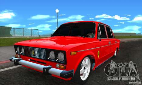 VAZ 2106 Ferrari para GTA San Andreas