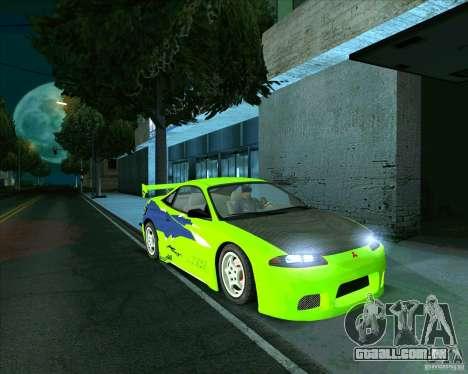 Mitsubishi Eclipse GS-t para GTA San Andreas