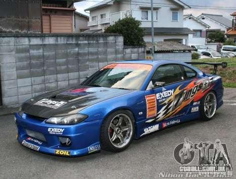 Nissan Silvia INGs +1 para GTA San Andreas vista interior