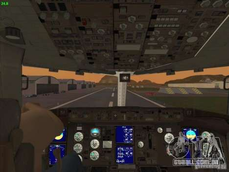 Boeing 767-300 LOT Polish Airlines para GTA San Andreas vista superior