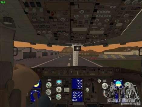 Boeing 767-300 LOT Polish Airlines para GTA San Andreas vista superior