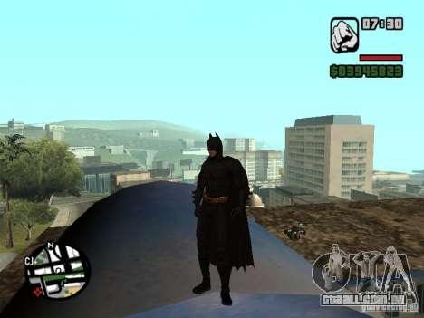 Batman para GTA San Andreas segunda tela