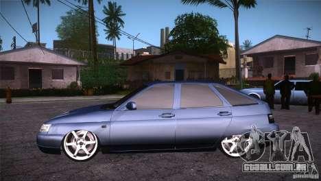VAZ-2112 LT para GTA San Andreas esquerda vista