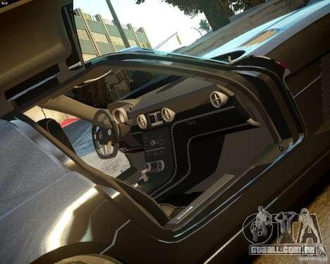 Mercedes SLS Extreme para GTA 4 vista de volta