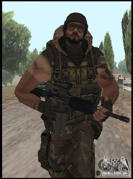 [Point Blank] Terrorist para GTA San Andreas segunda tela