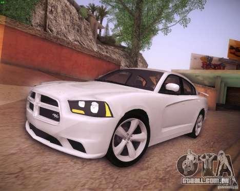 Dodge Charger 2011 v.2.0 para GTA San Andreas esquerda vista