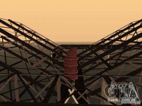 Huge MonsterTruck Track para GTA San Andreas oitavo tela