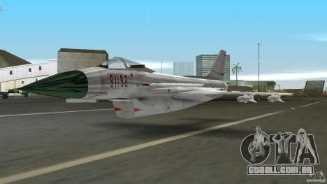 J-10 para GTA Vice City deixou vista