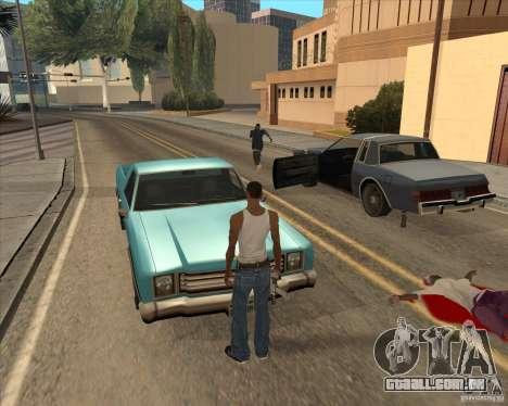 Drivers de saiam do carro para GTA San Andreas terceira tela