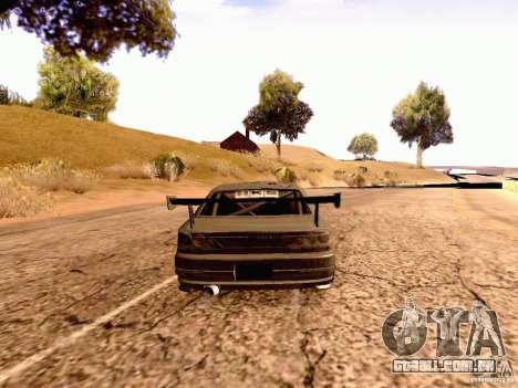 Nissan Silvia S15 By Blaze para GTA San Andreas esquerda vista