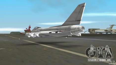 J-10 para GTA Vice City vista direita