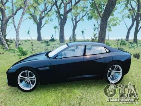 Lamborghini Estoque para GTA 4 esquerda vista