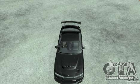 NISSAN SILVIA S14 CHARGESPEED FROM JUICED 2 para GTA San Andreas vista direita