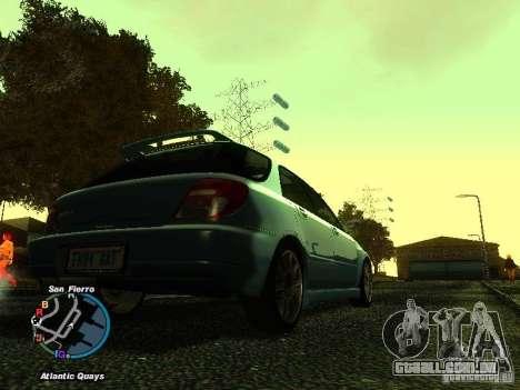 Subaru Impreza Wagon 2004 - 2002 para GTA San Andreas esquerda vista