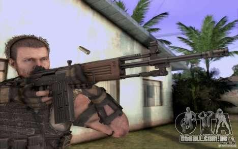 IMI GALIL AR para GTA San Andreas segunda tela