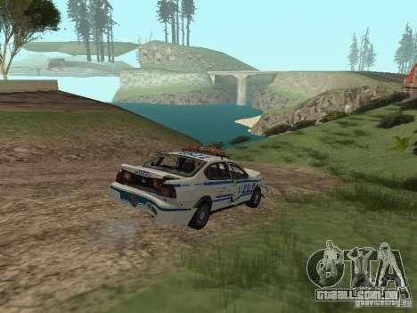 Polícia de GTA 4 para vista lateral GTA San Andreas