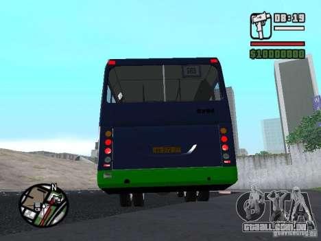LIAZ 5256.25-II para GTA San Andreas traseira esquerda vista