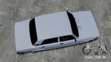 Vaz-2107 2011 DAG para GTA 4 vista direita