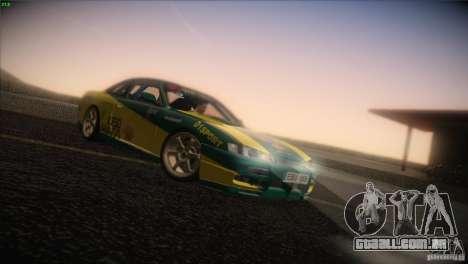 Nissan S14 para GTA San Andreas traseira esquerda vista