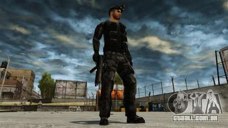 Sam Fisher v2 para GTA 4 quinto tela
