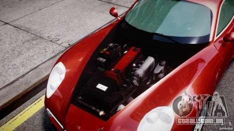 Alfa Romeo 8C Competizione para GTA 4 vista de volta