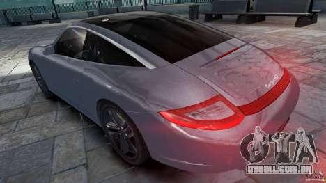 Porsche Targa 4S 2009 para GTA 4 esquerda vista