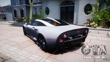Spyker C8 Aileron v1.0 para GTA 4 vista inferior
