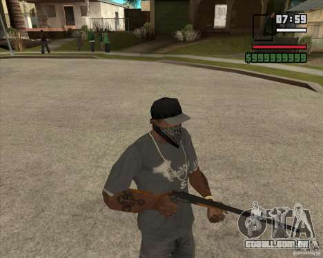 Call of Juarez Bound in Blood Weapon Pack para GTA San Andreas terceira tela