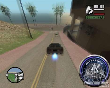 Velocímetro-2 para GTA San Andreas terceira tela