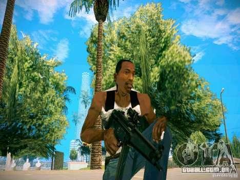 Armas Pack HD para GTA San Andreas quinto tela