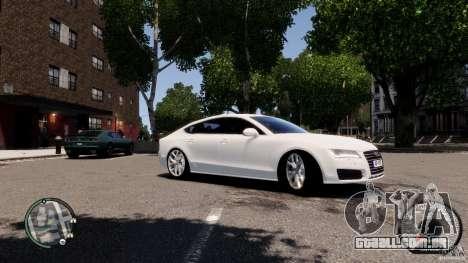 Audi A7 Sportback para GTA 4 vista interior