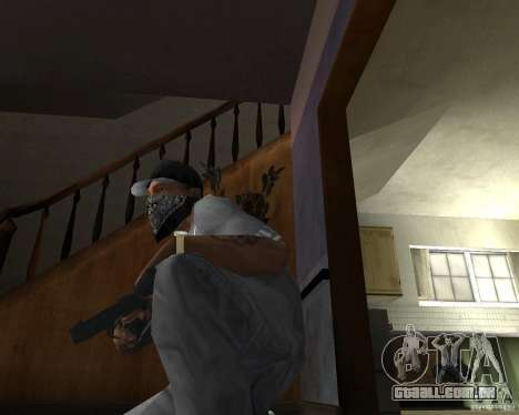 M9 para GTA San Andreas terceira tela