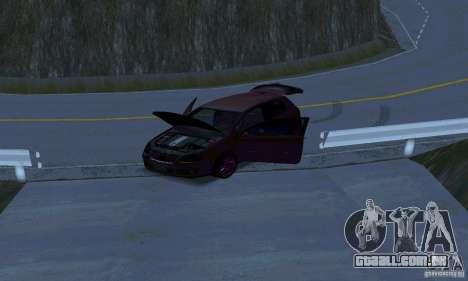 Volkswagen Golf V JDM Style para GTA San Andreas vista interior