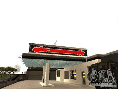 Garagem GRC em SF para GTA San Andreas segunda tela