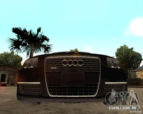 Audi A6 3.0 TDI Quattro para GTA San Andreas vista direita