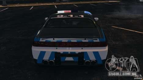 NFSOL State Police Car [ELS] para GTA 4 vista inferior