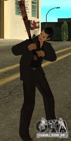 Pedaços sangrentos com unhas HD para GTA San Andreas terceira tela