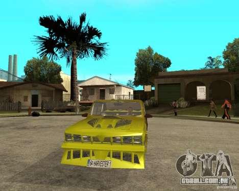 Anadol GtaTurk Drift Car para GTA San Andreas vista traseira