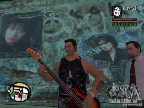 Músicas do filme na guitarra para GTA San Andreas por diante tela