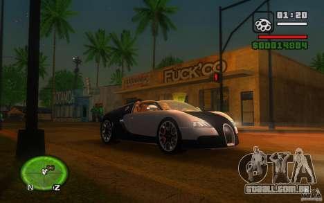 Bugatti Veyron 16.4 Grand Sport Sang Bleu para GTA San Andreas