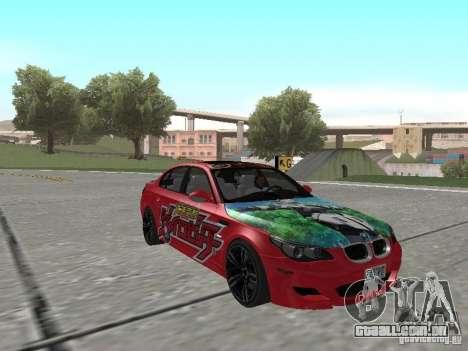 BMW M5 E60 para o motor de GTA San Andreas