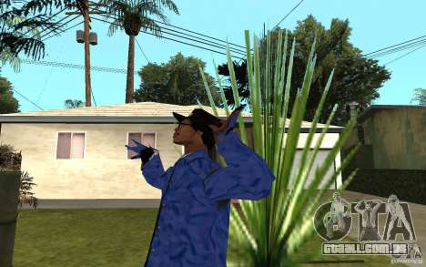 Crips 4 Life para GTA San Andreas terceira tela