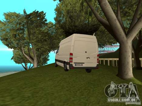 Mercedes Sprinter 311CDi beta para GTA San Andreas esquerda vista