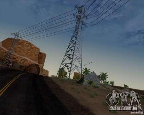 HQ Country N2 Desert para GTA San Andreas por diante tela