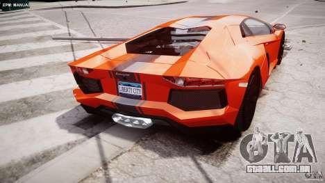 Lamborghini Aventador LP700-4 2011 [EPM] para GTA 4 vista inferior