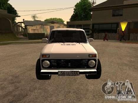 Armenian NIVA DORJAR 4 x 4 para GTA San Andreas esquerda vista