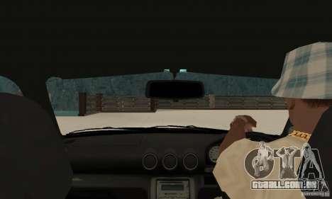 Nissan Silvia INGs +1 para GTA San Andreas vista direita