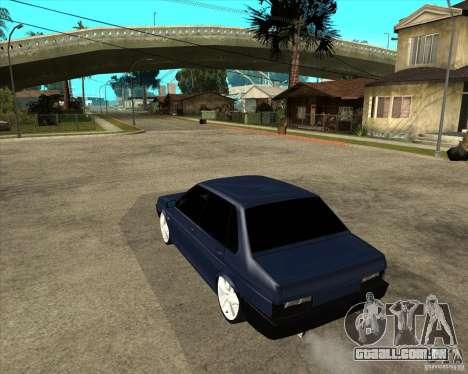 VAZ 21099 Tuning luz por Diman para GTA San Andreas esquerda vista